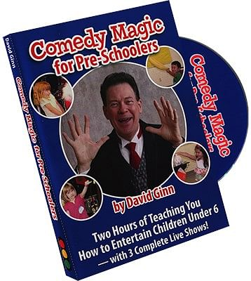 Comedy Magic for Pre-Schoolers - magic