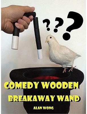 Comedy wooden breakaway wand - magic