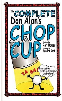 Complete Don Alan Chop Cup book - magic