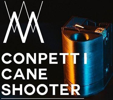 Confetti Cane Shooter - magic