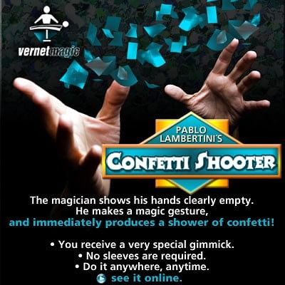 Confetti Shooter - magic