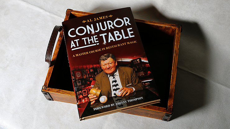 Conjuror at the Table - magic