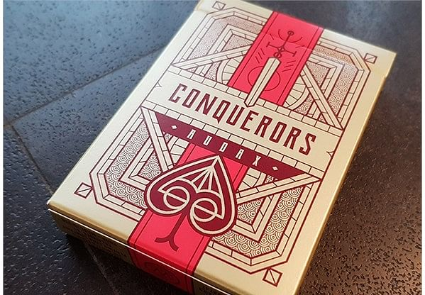 Conquerors Audax Playing Cards - magic
