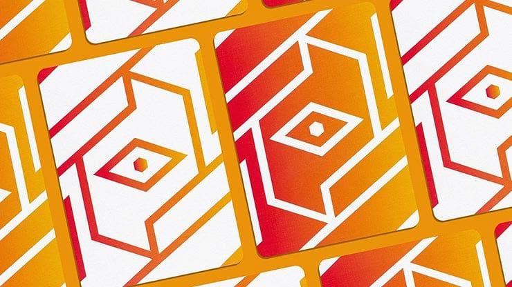 COPAG 310® ALPHA Orange Playing Cards