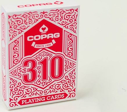 COPAG 310 Playing Cards (Red) - magic