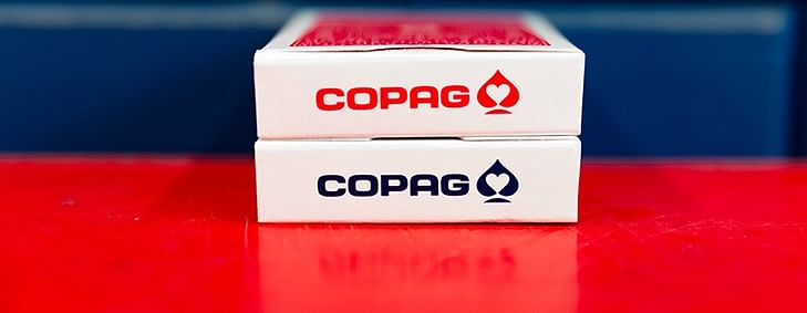 COPAG 310 SlimLine Playing Cards (Red)