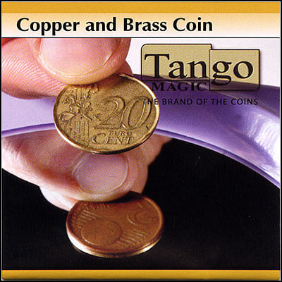 Copper and Brass - 5 Euro Cents/20 Euro Cents - magic