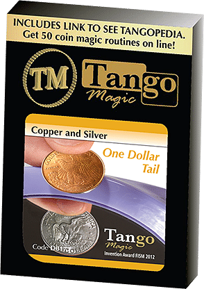 Copper and Silver Dollar - magic