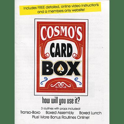 Cosmo's Card Box - magic