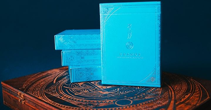 Cosmos Playing Cards (Blue) - magic