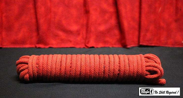 Cotton Rope (Red) 50 ft - magic