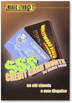 Credit Card Monte - magic