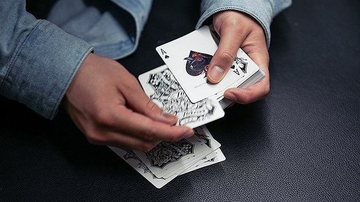 Crow Playing Cards