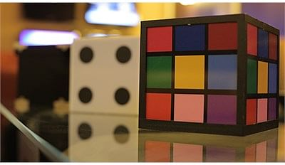 Crystal Cube to Rubik and Dice