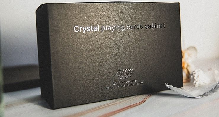 Crystal Playing Cards Cabinet - magic