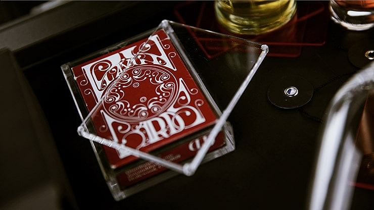Crystal Playing Cards Display Case
