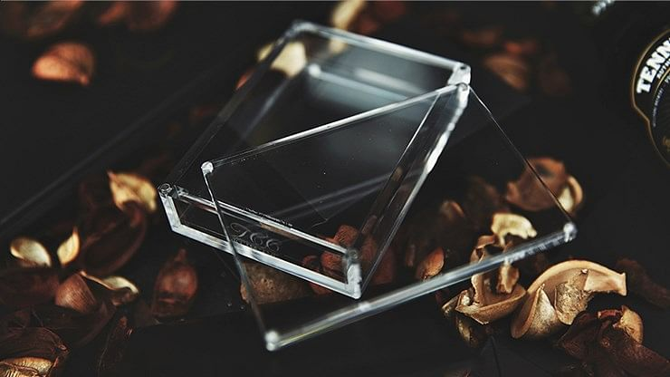 Crystal Playing Cards Display Case - magic