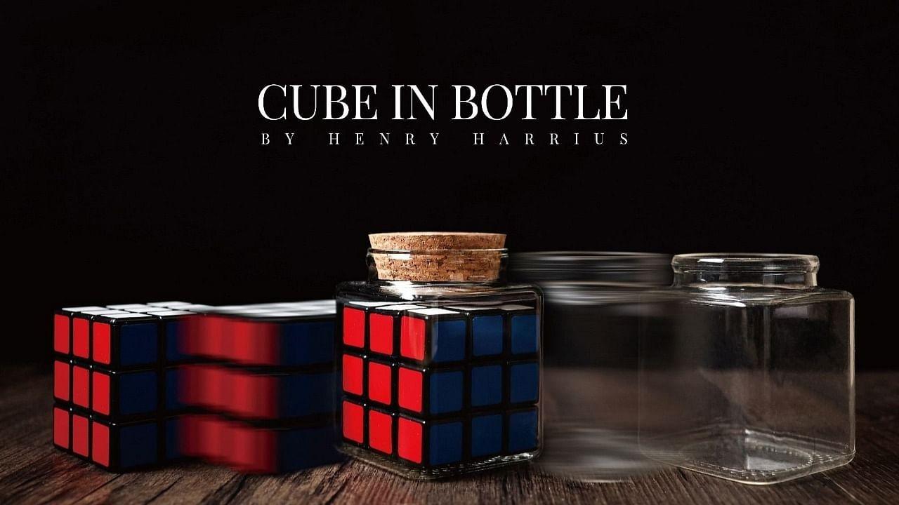 Cube in Bottle by Henry Harrius - Vanishing Inc. Magic shop