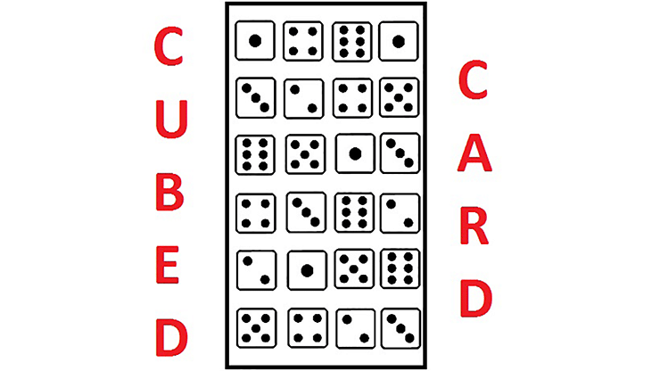 Cubed Card - magic