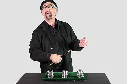 Cups and Balls Masterclass - magic