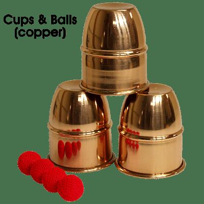 Cups & Balls (Copper) - magic