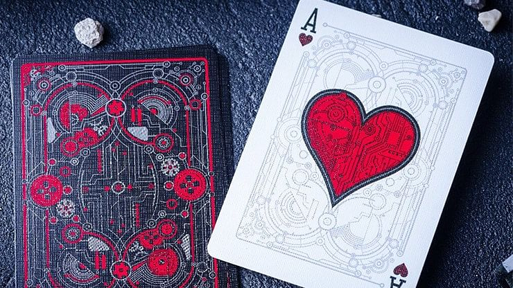 Cyberpunk Red Playing Cards