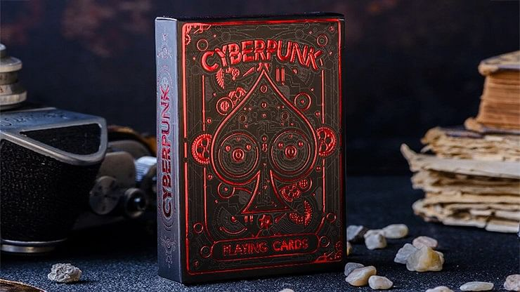 Cyberpunk Red Playing Cards  - magic