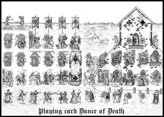 Dance of Death V3 Playing Cards