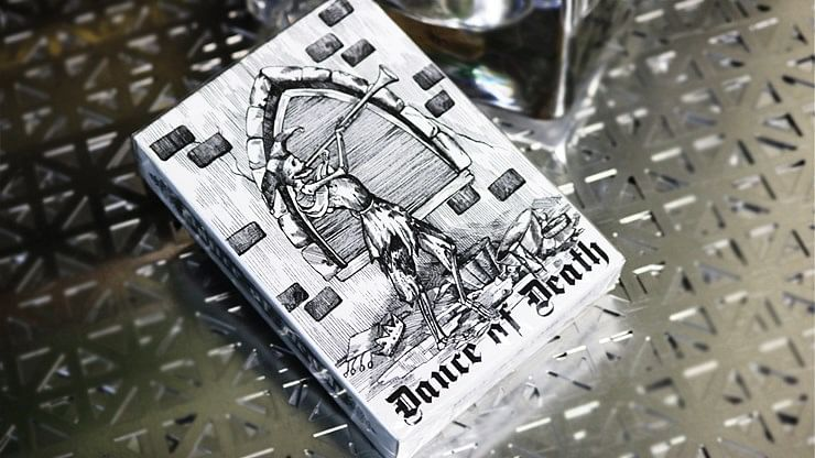 Dance of Death V3 Playing Cards - magic