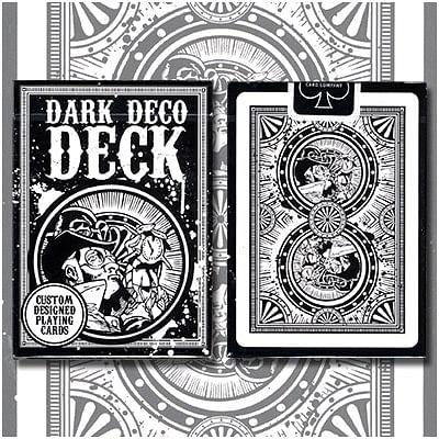 Dark Deco Playing Cards - magic