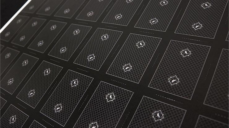 Darkfall Playing Card Uncut Sheet