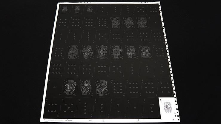 Darkfall Playing Card Uncut Sheet - magic