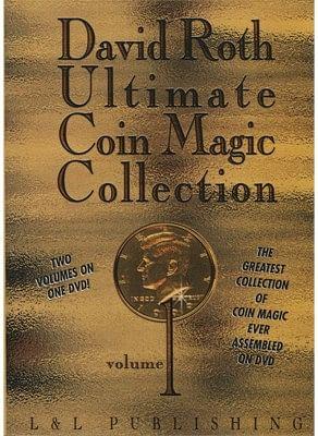 David Roth Ultimate Coin Magic Collection Vol 1 - magic