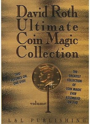 David Roth Ultimate Coin Magic Collection Vol 1 - magic