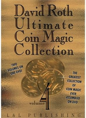David Roth Ultimate Coin Magic Collection Vol 4 - magic