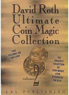 David Roth Ultimate Coin Magic Collection Vol 2 - magic