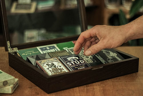 Deck Finesse Glass Display Case - magic