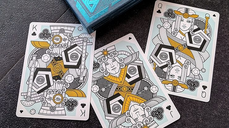 Dedalo Alpha Playing Cards