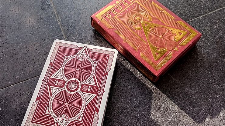 Dedalo Omega Playing Cards