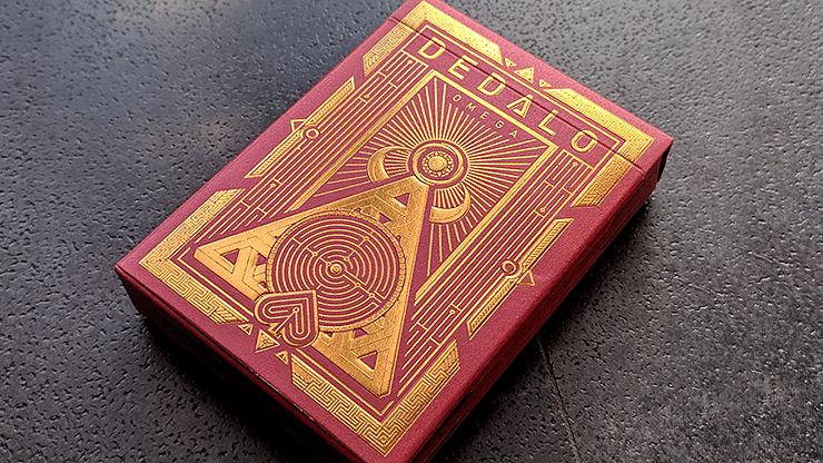 Dedalo Omega Playing Cards - magic