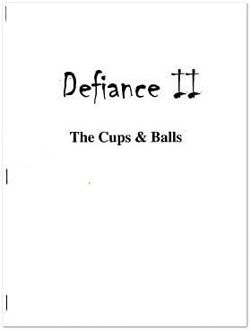 Defiance II Cups & Balls - magic