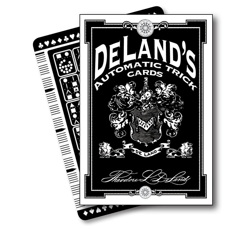 DeLand's Automatic Trick Cards - magic