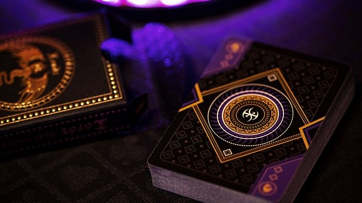 Dark Lordz Royale Playing Cards (Deluxe Foiled Limited Edition)