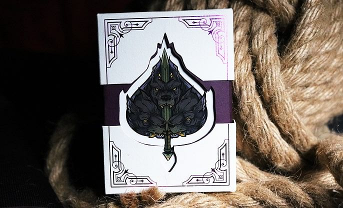 Theos Limited Edition Purple Playing Cards - magic