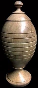 Deluxe Wooden Ball Vase