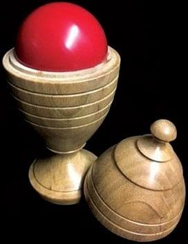 Deluxe Wooden Ball Vase - magic