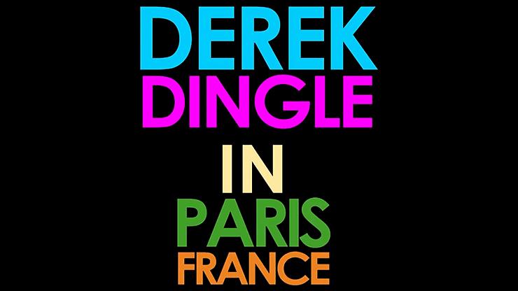 Derek Dingle in Paris, France - magic
