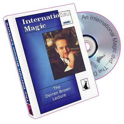 Derren Brown Lecture - magic