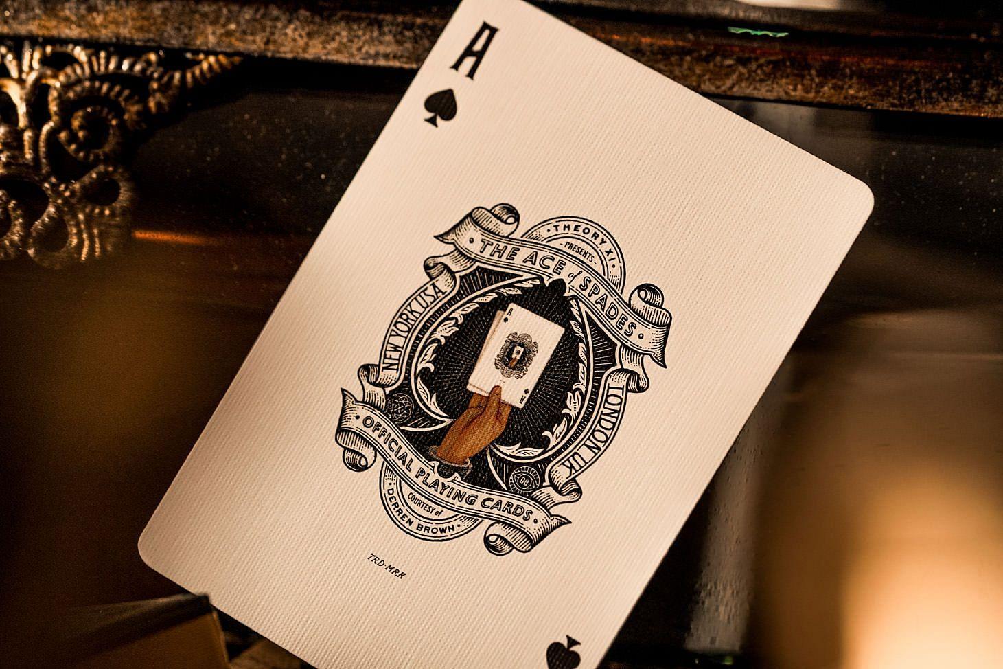 Derren Brown Playing Cards - magic