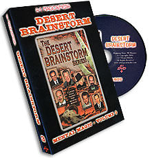 Desert Brainstorm Volume 3, DVD - magic